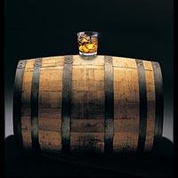 barril de whisky escoces