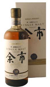 Tradicional whisky tipo Single Malt, de origen Japonés