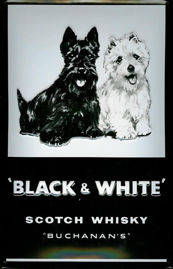 Black Dog Liquor Bottle Image