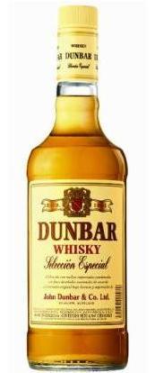 Whisky Dunbar - Whisky producido en Uruguay