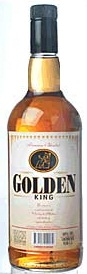 Whisky Golden King - botella de un litro