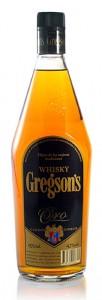 Whisky Gregson's edición especial Oro