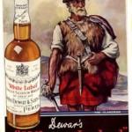 Whisky Dewars, un pionero.
