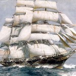 """El velero escocés """"Cutty Sark"""