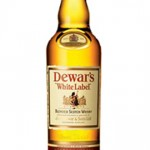 Whisky John Dewars, etiqueta 6 años.