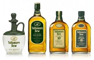 Etiquetas del whiskey Tullamore Dew