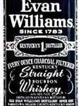 El conocido y respetado logo de Evan Williams
