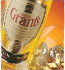 Whisky Grant's, una excelente opción..