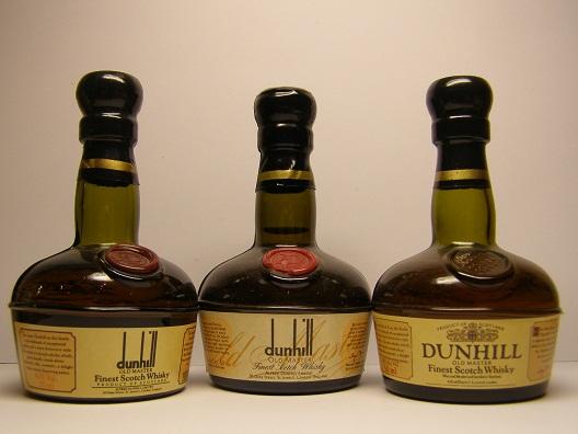 Whisky Dunhill en tres presentaciones