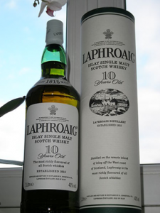Whisky Laphroaig (single malt)