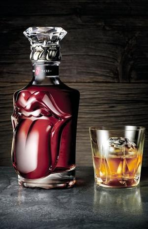 Rolling Stones limited edition Suntory Whiskey