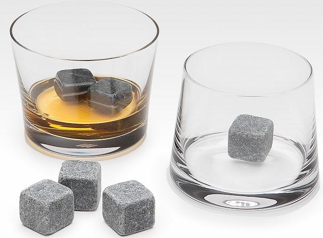 Presentación de las whisky stones.